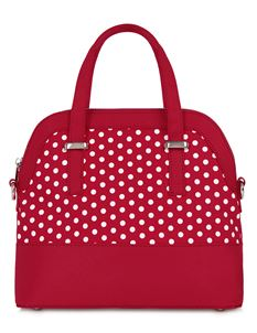 Ruby Shoo Lima Red Spots Polka Dot Shoulder Carry Bag