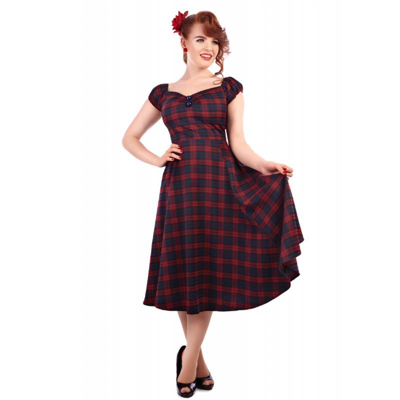 Collectif red dress