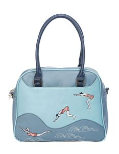 Banned Retro Swimmers 50s Rockabilly Bowling Bag