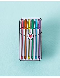 Punky Pins Stationery Gel Pens Enamel Pin