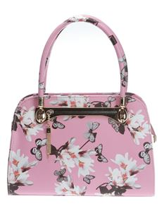 Poisoned Blossom & Butterfly Bowling Bag Pink
