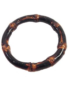 Brown Bamboo Bangle By Voodoo Betty