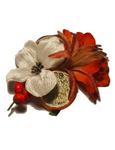 Minx's Accessories Oranges And Berries Hair Clip