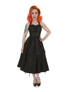 Hearts & Roses Gothic Pretty Pirate Alternative Dress