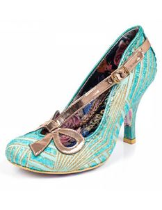 Irregular Choice Bubbles 1920s Vintage Heels Shoes Mint