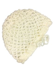 Silly Old Sea Dog Cream Crochet Snood