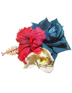 Minx's Accessories Rose, Orchid And Hibiscus Hair Clip