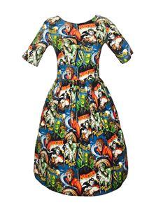 Silly Old Sea Dog 1950s Monsters Dress
