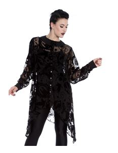 Spin Doctor Amoret Gothic Lace Alternative Blouse