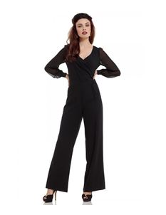 Voodoo Vixen - Rosemary Flared Jumpsuit