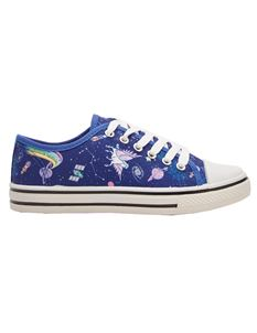 Lindy Bop Space Unicorn Trainers