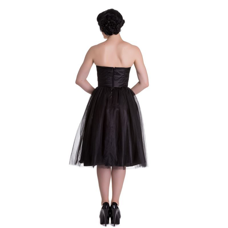 Hell Bunny Tamara Party Cocktail Prom Dress Black