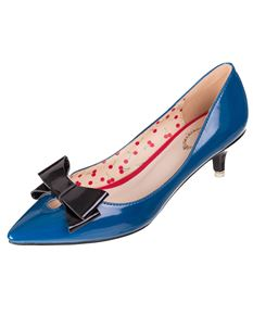 Banned Belle Patent 50s 60s Winklepicker Shoes 3 Colours