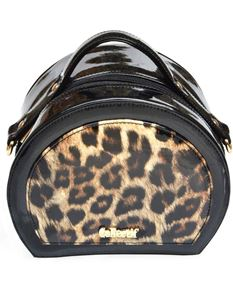 Collectif 50s Style Leopard Vanity Bag