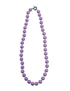 Collectif Dainty Pearl 50s Style Necklace Lilac