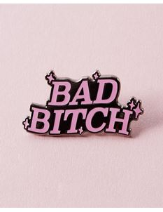 Punky Pins Bad Bitch Enamel Pin