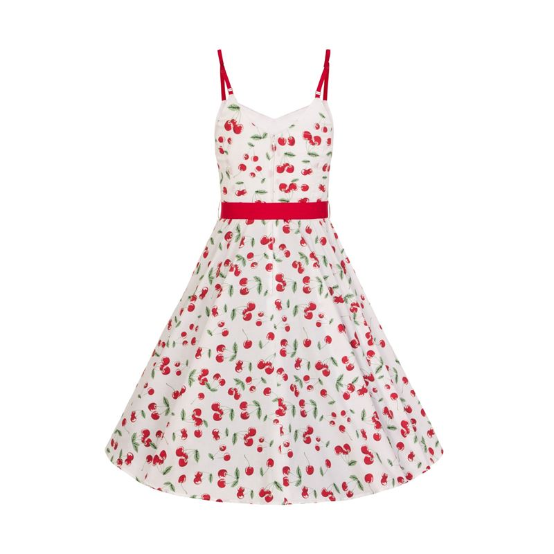 Hell Bunny Sweetie Cherry 50s Style Summer Dress