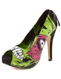 Iron Fist Zombie Stomper Platform Alternative Shoes