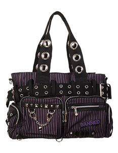 Banned Alternative Handcuff Handbag Bag