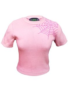 Miss Fortune Strawberry Spider Web Bobbie Jumper