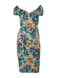 Dolly And Dotty Bette Floral Pencil Dress