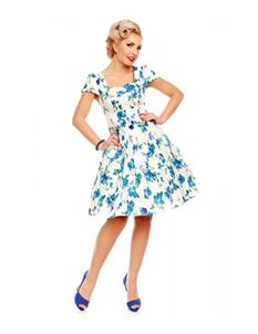 Dolly And Dotty - Claudia Swing Floral Dress