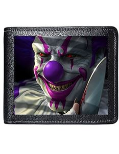 Tom Wood 3D Lenticular Mischief Clown Mens Wallet