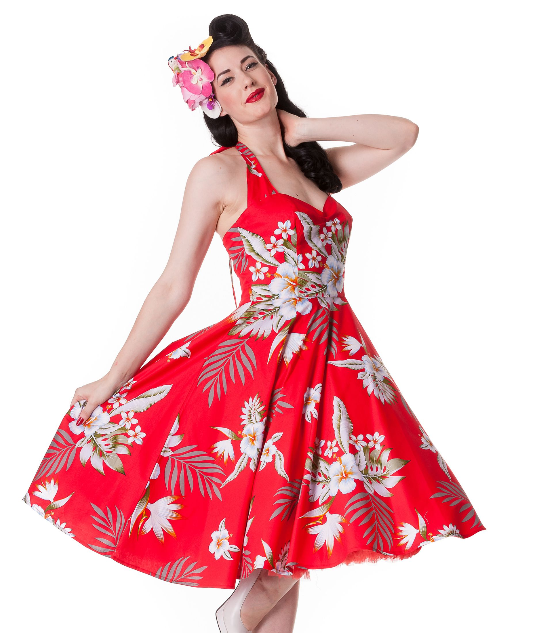 hawaii kleid damen