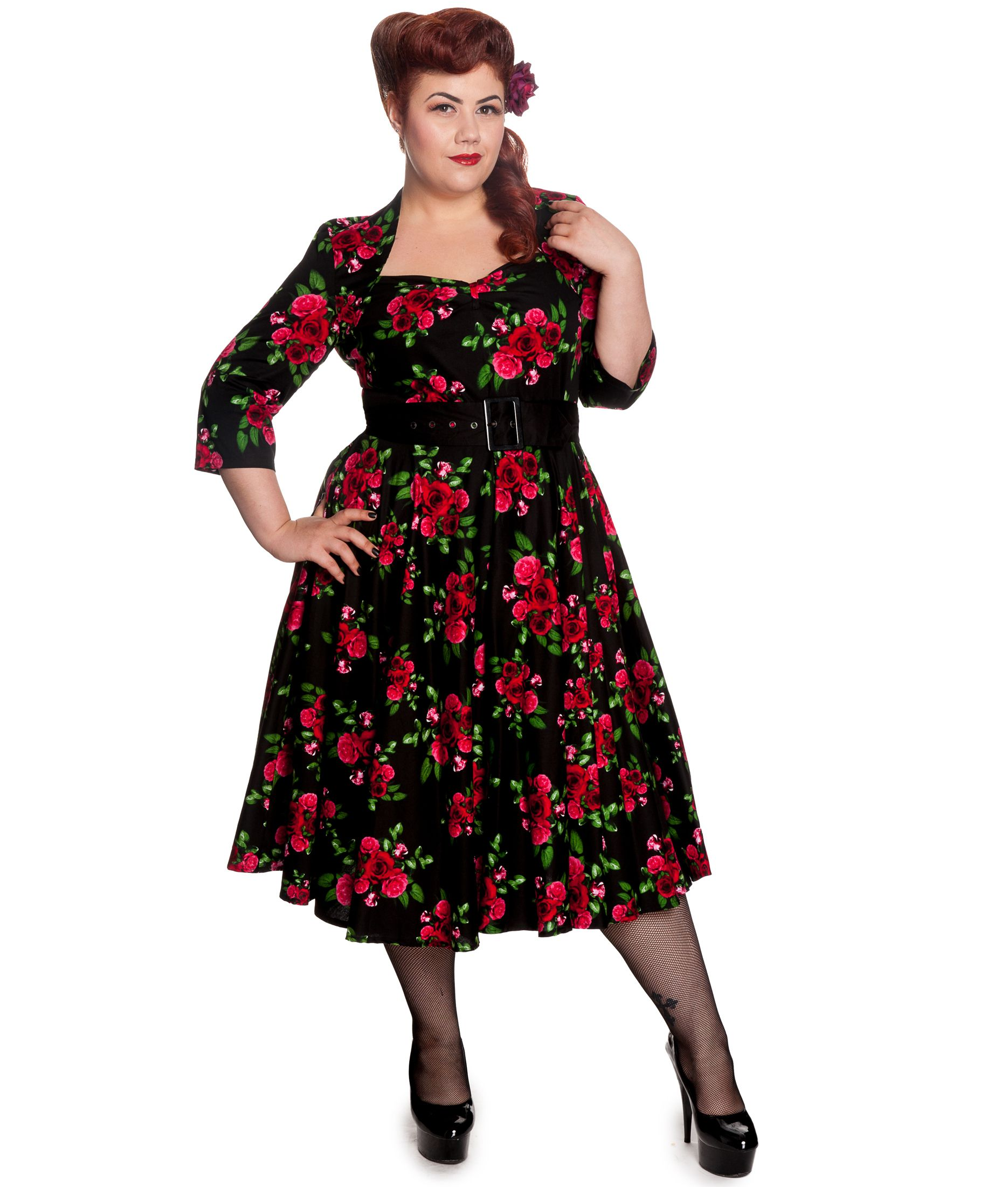 Plus Size Fifties Style Dresses _Other dresses_dressesss